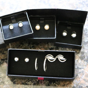 Avon Jewelry - Dainty Delight / Instant Class Silver Earrings